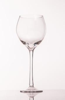 Copo transparente para vinho