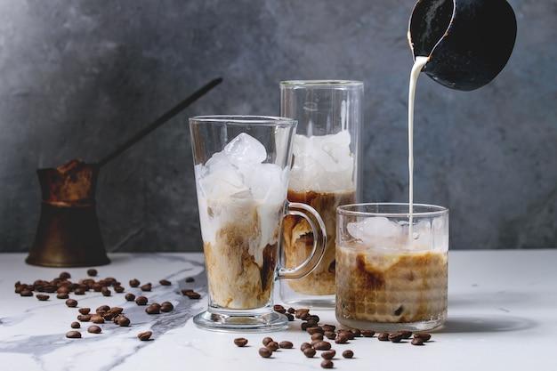 Coquetel de café gelado