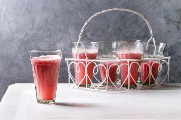 Coquetel de frutas vermelhas