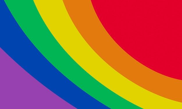 Cor abstrata do arco-íris. fundo lgbtq +.