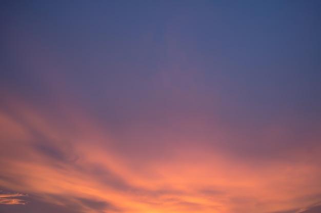 Cor abstrata nuvens céu cor pastel