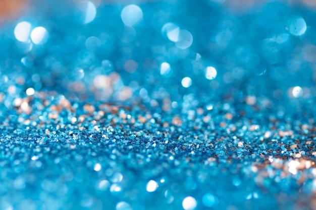 Cor azul bokeh de fundo,