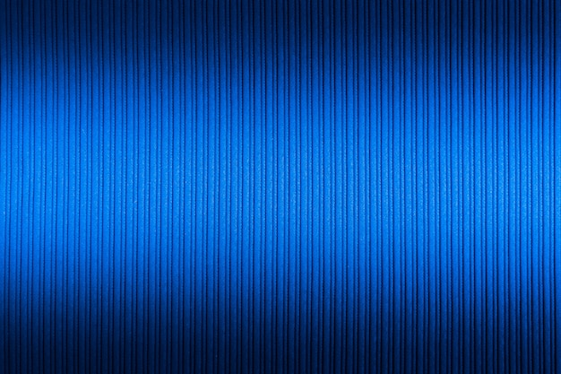 Cor azul decorativa, textura listrada superior e inferior gradiente.