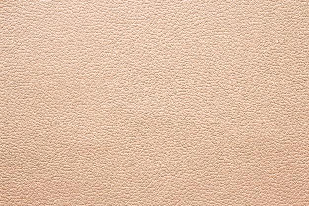 Cor creme ou marrom da textura de couro