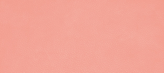 Cor da textura da pele de couro genuíno cor laranja rosa é chamada de flor do deserto.
