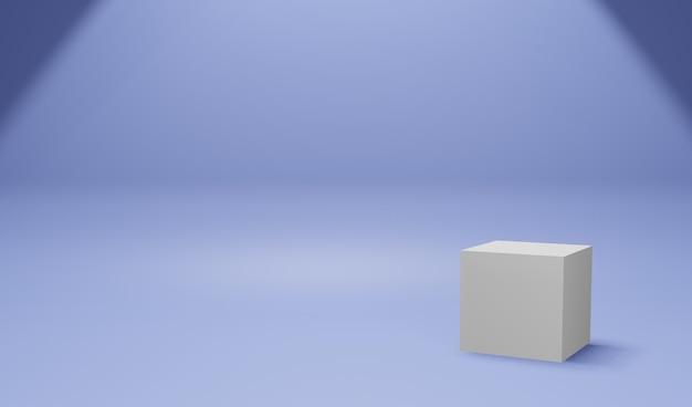 Cor de exibição do produto - azul