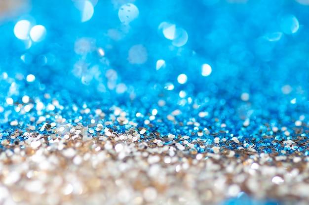 Cor de fundo azul e branco bokeh,