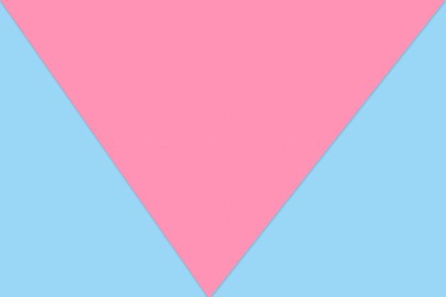 Cor de papel pastel azul e rosa para fundo de textura