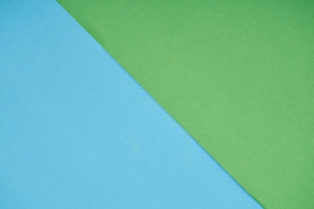 Cor de papel pastel verde e azul para o fundo