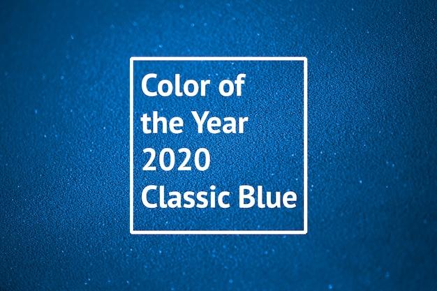 Cor do ano 2020 classic blue
