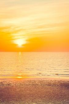 Cor do céu sol amanhecer paisagem