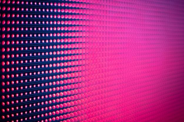 Cor luz levou tela rosa roxo abstrato textura de fundo