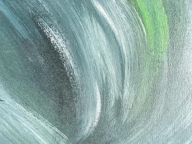 Cor verde e azul do fundo da arte abstrato.