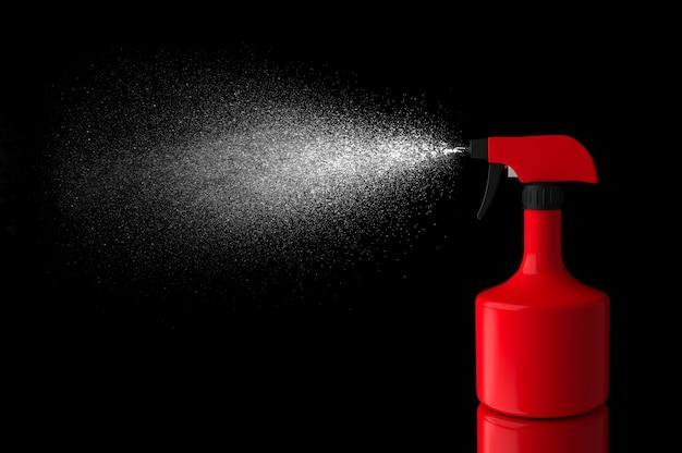 Cor vermelha isolada líquida de pulverização