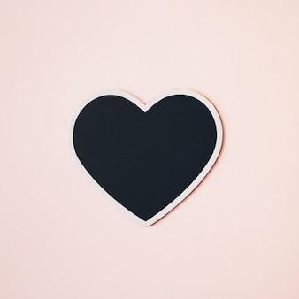Coração minimalista para maquete