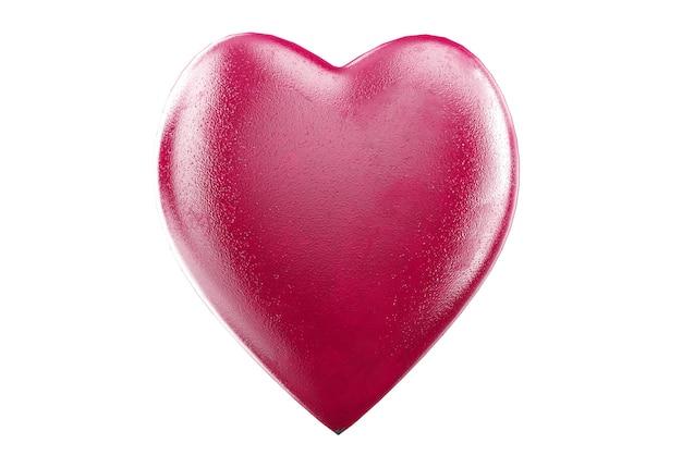 Coração molda corações vermelhos eu te amo composição abstrata conceito de ícone de harmonia casal querido
