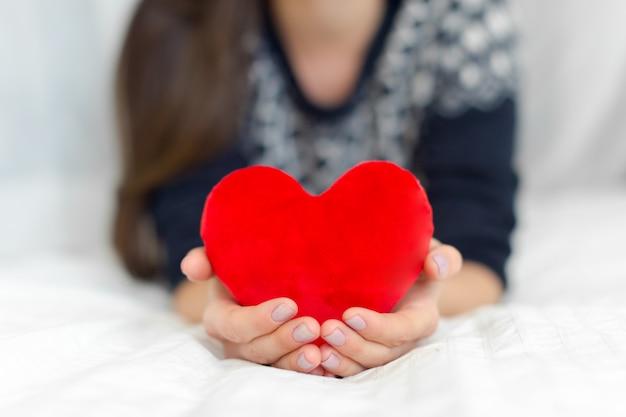 Coração nas mãos