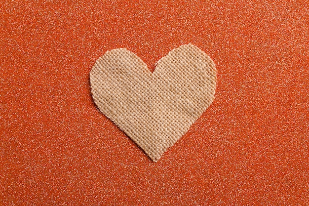 Coração pequeno. conceito de dia dos namorados