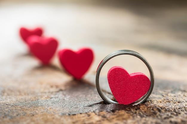 Coração pequeno no ringue