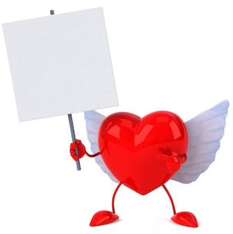 Coração - personagem 3d