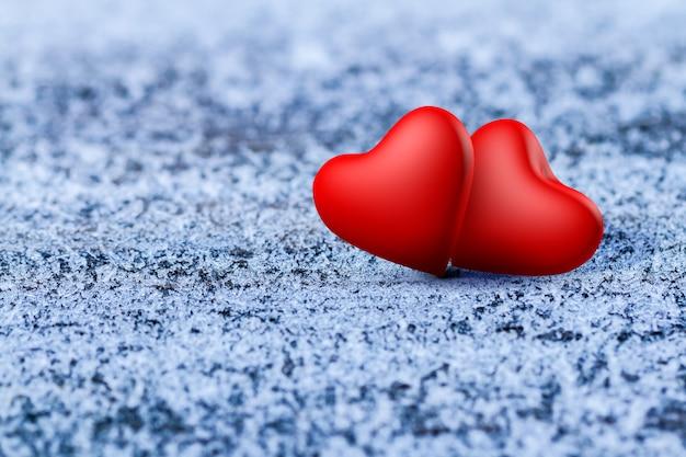 Corações dos namorados