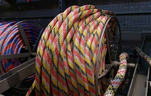 Corda náutica. corda de barco. corda náutica vendida na loja