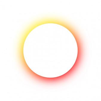 Cores brilhantes redondas coloridas brilhantes