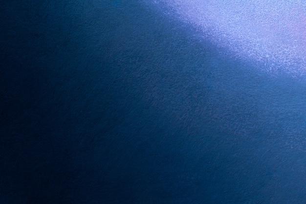 Cores dos azuis marinhos e do preto do fundo da arte abstrata. pintura em aquarela sobre tela com gradiente.