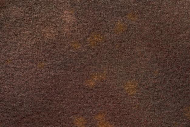 Cores marrons escuras do fundo da arte abstrata. pintura em aquarela sobre tela.