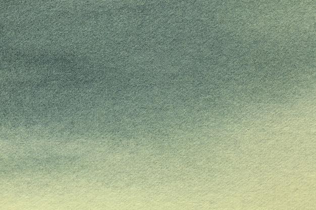 Cores verdes e cinza da arte abstrata.
