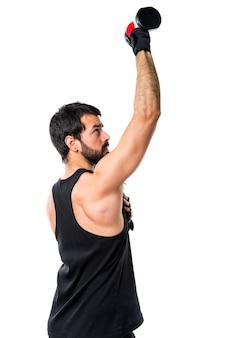 Corpo de bombeiro bodybuilder