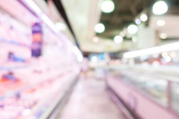 Corredor com refrigeradores frigoríficos
