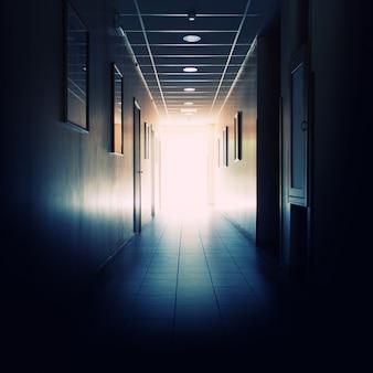 Corredor de prédio de escritórios
