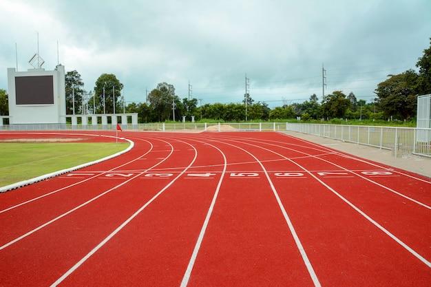 Correndo e trilha