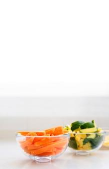Cortar legumes