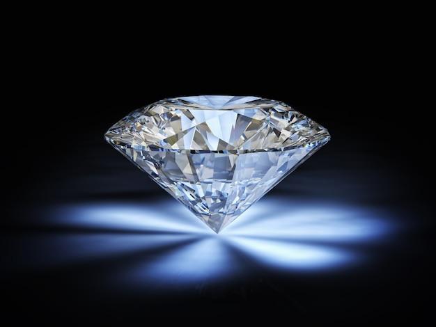 Corte clássico diamante
