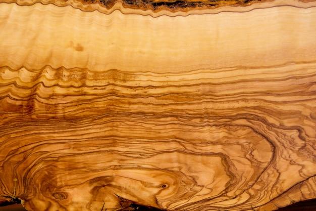 Corte de textura de tronco de oliveira