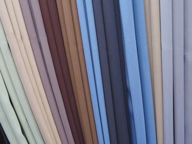 Cortinas coloridas
