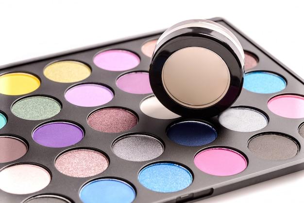 Cosméticos decorativos para maquiagem dos olhos, paletes
