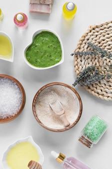 Cosméticos para tratamento de spa