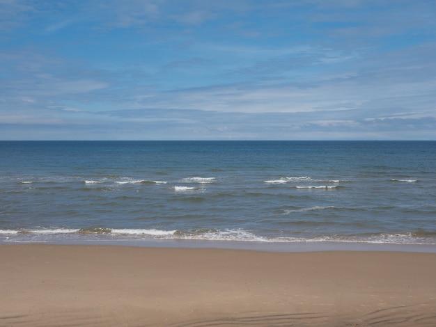 Costa da praia do mar
