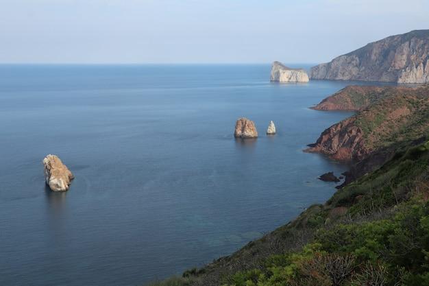 Costa da sardenha, itália paisagens incríveis
