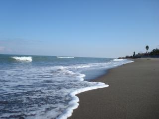 Costa do mar cáspio, do irã