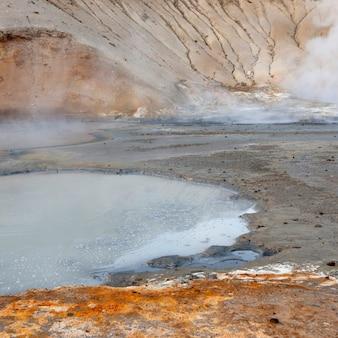 Costa geotérmica geológica piscina mineral