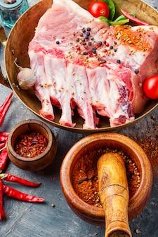 Costela de porco
