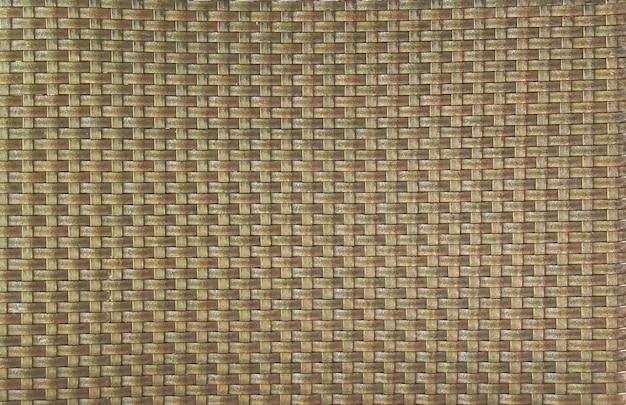 Costura padrão de fundo de textura de bambu tecido.