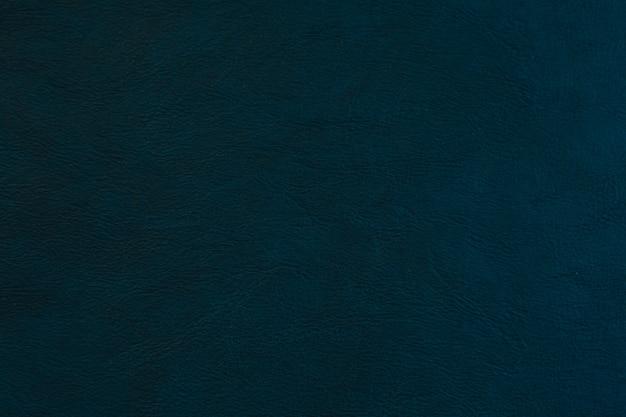 Couro de textura azul para plano de fundo
