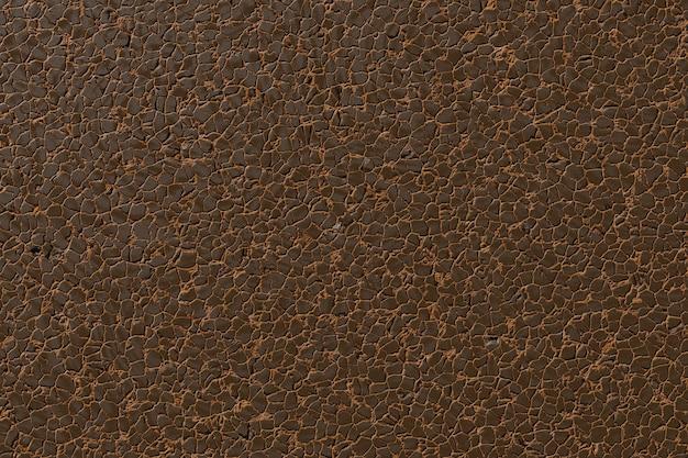Couro marrom textura rachado