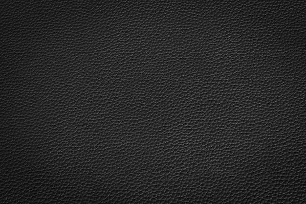 Couro preto e textura de fundo