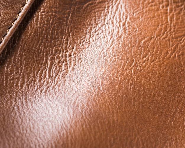 Couro texturizado de qualidade extremamente close-up